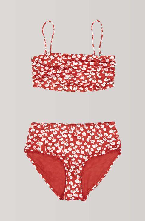 aefb140ae6 Clover Swimwear Bikini, Fiery Red   Fashion in 2019   Swimwear ...