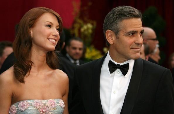 George Clooney y Sarah Larsson-No hay quien cace a este hombre. Su relación con Sarah sólo duró un año
