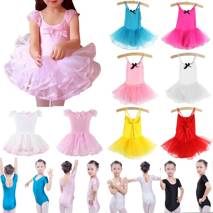 Ballet Tutu Princess Dance Dress Toddler Kid Girl Leotard Skirt Party Dancewear     eBay