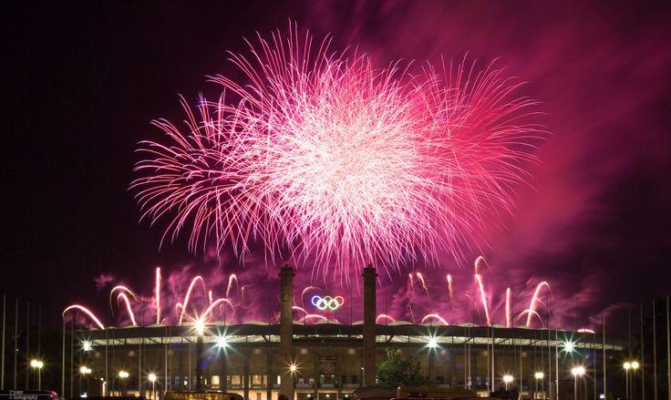 #Olympiastadion #Berlin #Berlino #martarello #martarellogroup #italy #messico #mexiko #pyronale #winner #champion #2015