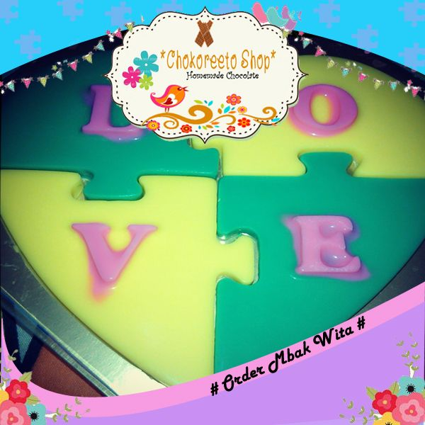 Puzzle Love - Order By Mbak Juwita