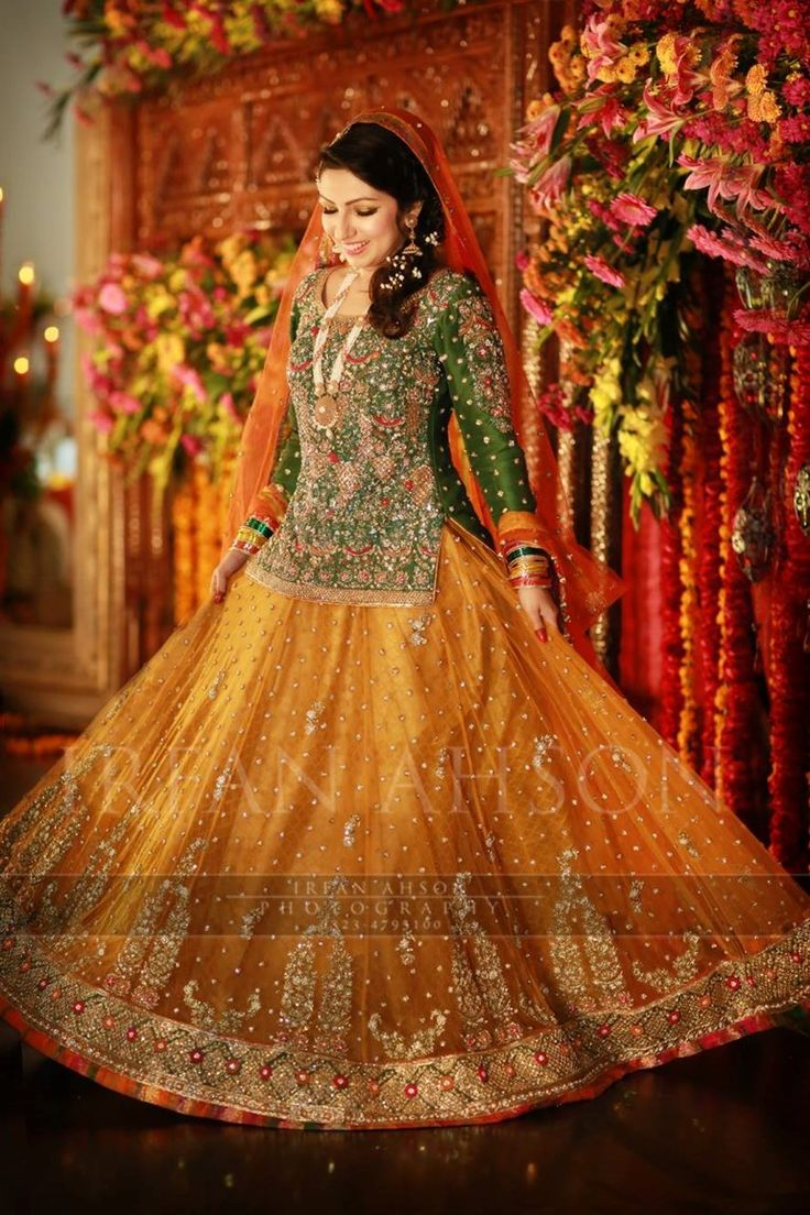 The Colorful Pakistani Bridal Collection {Irfan Ahson Photography}