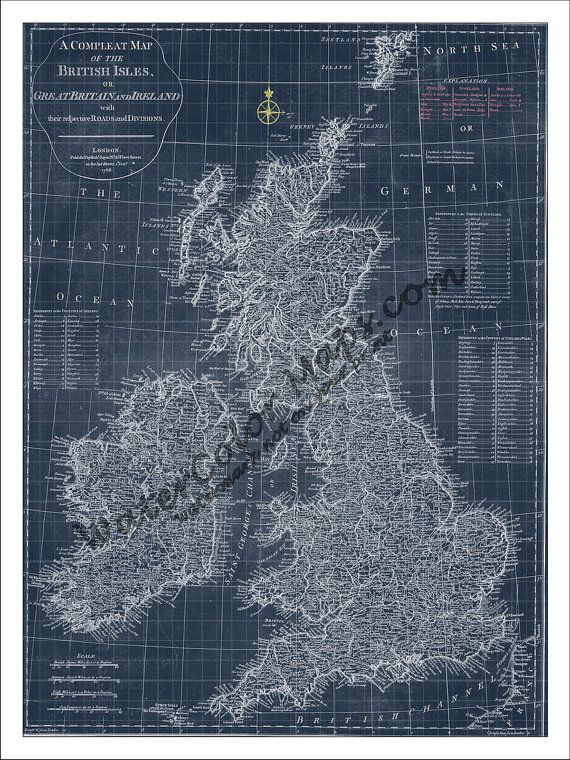 44 best blueprint maps images on pinterest long island rhode british isles map map of england england map great britain map ireland map vintage map malvernweather Images