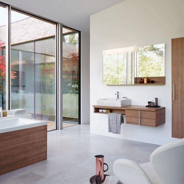 Cuarto de baño con colores otoñales de Duravit - Banium