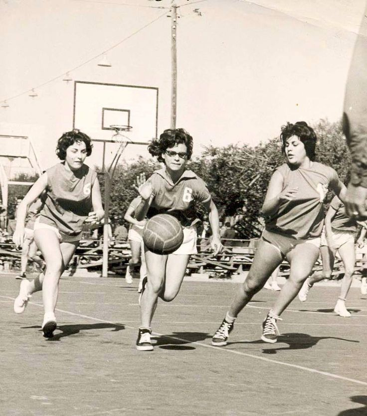 Basketball players, Casablanca 1960