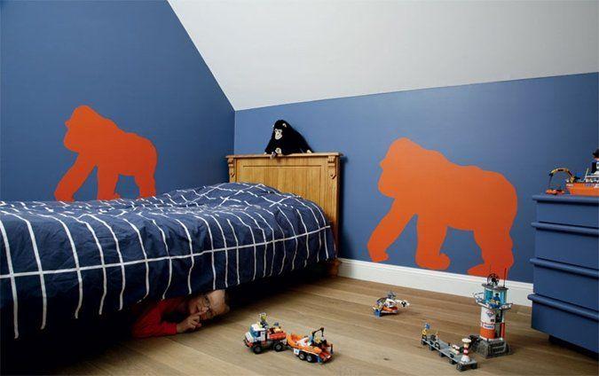 Meer dan 1000 idee n over blauwe kamer verf op pinterest marineblauwe kamers grote jongen - Kamer voor kleine jongen ...