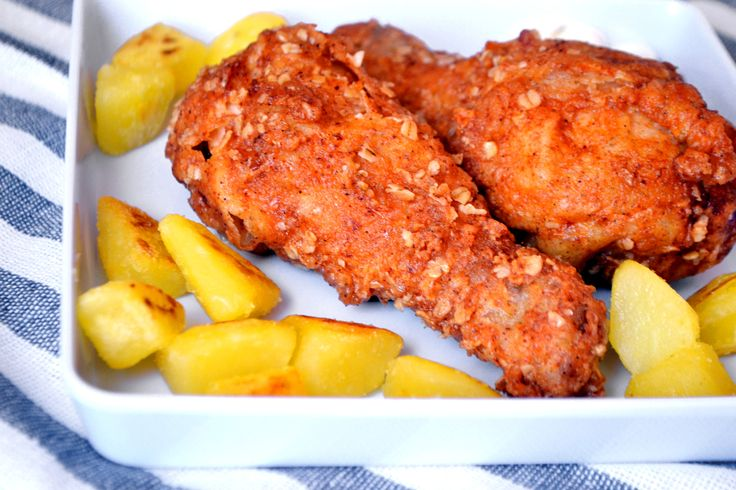 KFC rántott csirkecomb recept
