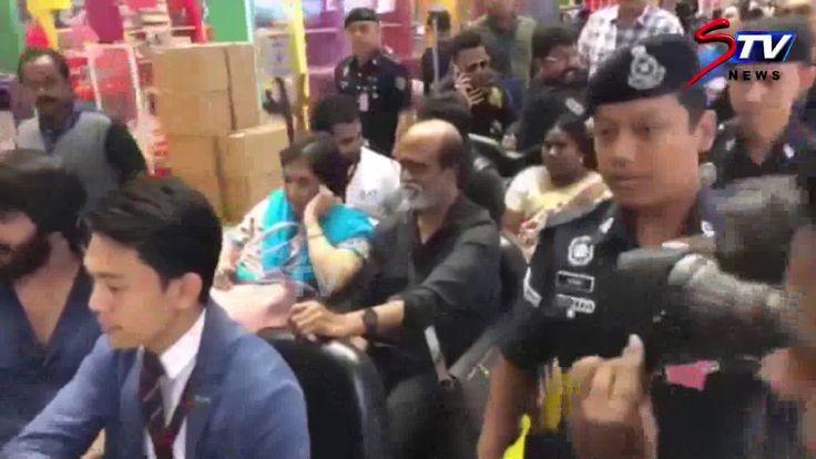 Rajani in kolalampur|Super Star Rajinikanth's grand entry at Malaysian A...