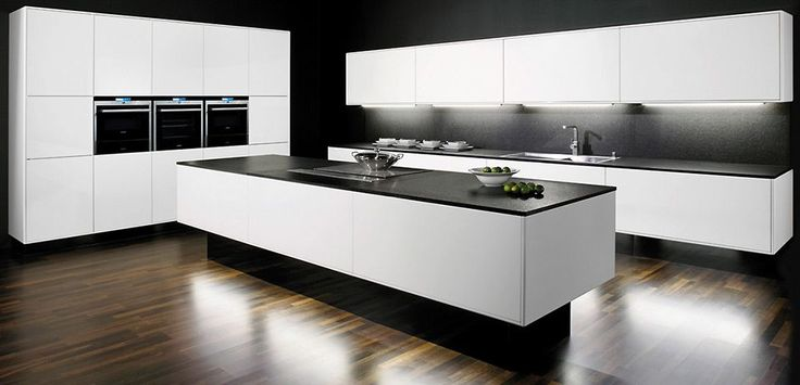 about u k che weiss hochglanz on pinterest k che hochglanz weiss. Black Bedroom Furniture Sets. Home Design Ideas