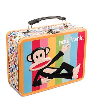 Look at this #zulilyfind! Paul Frank Rainbow Monkey Lunchbox by Paul Frank #zulilyfinds