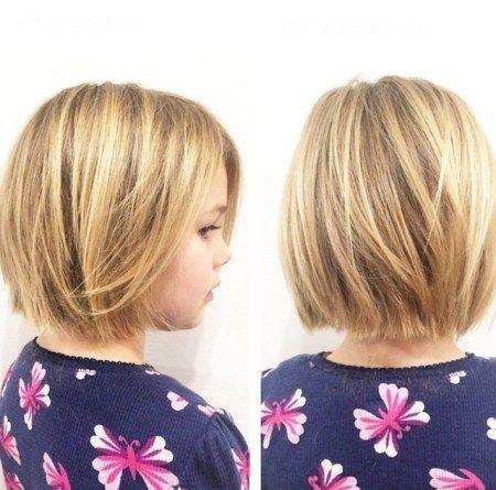 cool Bob Haircut For Little Girls...