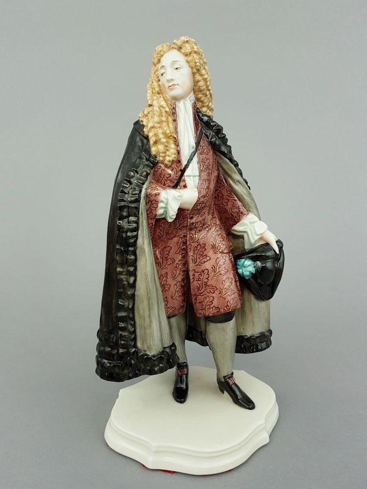 Nymphenburg Figur Augsburger Patrizier, Entw. R. Schröder-Lechner, Mod.-Nr.: 896   eBay