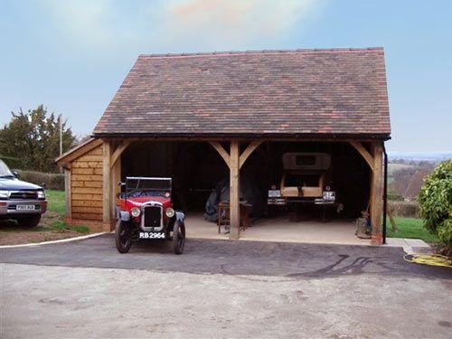 Oak Timber Framed Garages|wooden garages