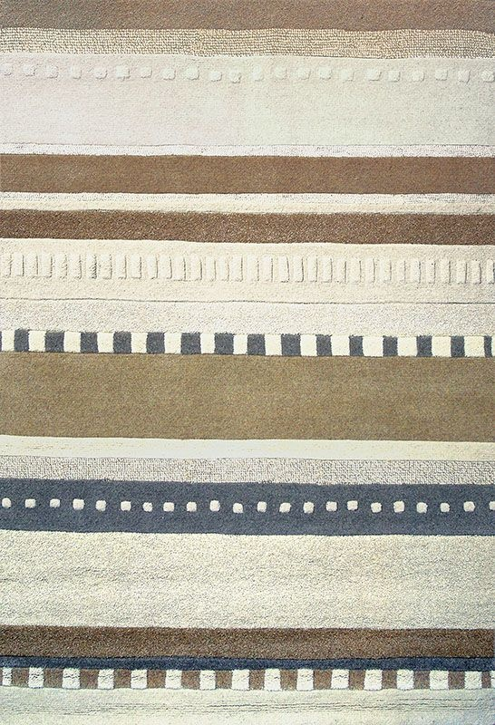Aztec Beige & Cream Stripes! Great rug with a Southwestern feel.