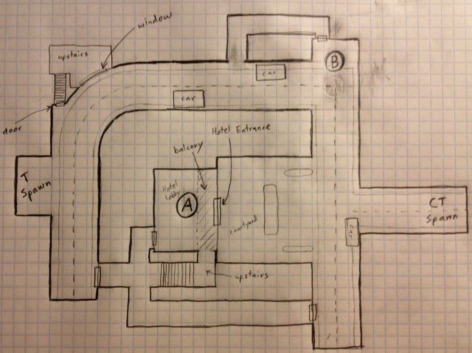 counter strike map layouts google search