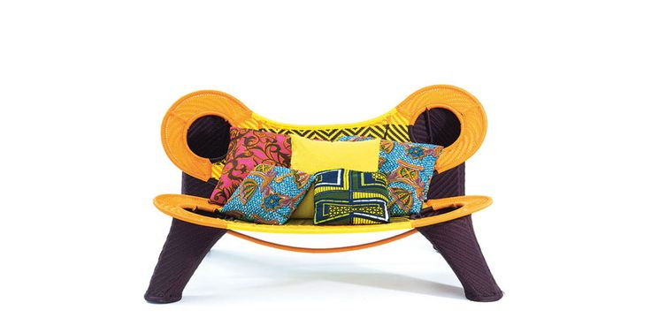 Madame Dakar, sofa by Ayse Birsel & Bibi Seck, 2009 for Moroso