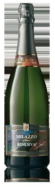 Milazzo Metodo Classico Riserva - Classic Method V.S.Q. sparkling -Green Inzolia and Chardonnay