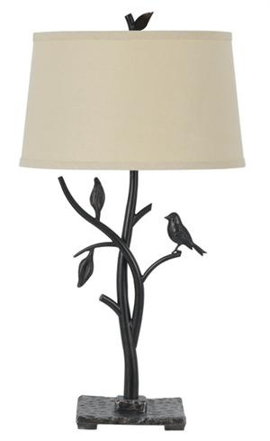 Cal Lighting Medora Iron Table Lamp   Bring A Touch Of Natural Beauty Into  Your Home With The Cal Lighting Medora Iron Table Lamp And Its Organic  Forms.