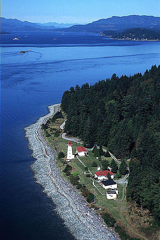 Cape Mudge Lighthouse, Quadra Island, Discovery Islands, British Columbia, Canada | by BCVacation