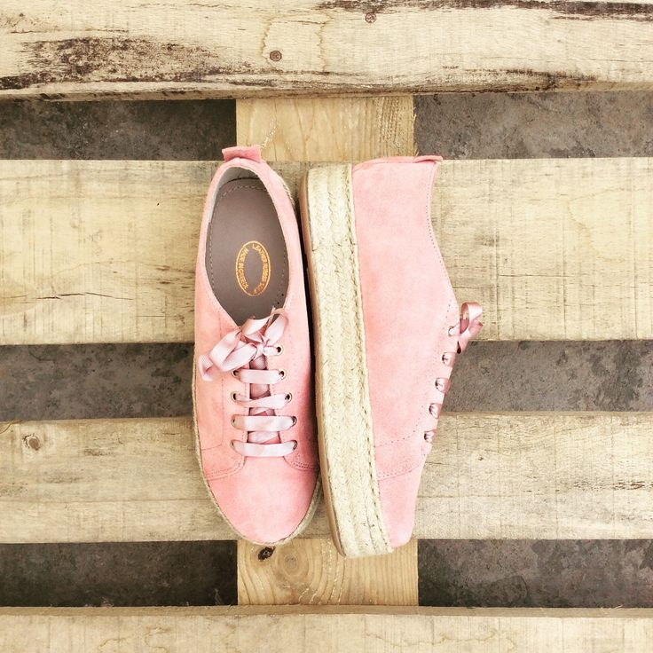 A personal favorite from my Etsy shop https://www.etsy.com/listing/530683693/all-pink-espadrilles-sneakers-suede
