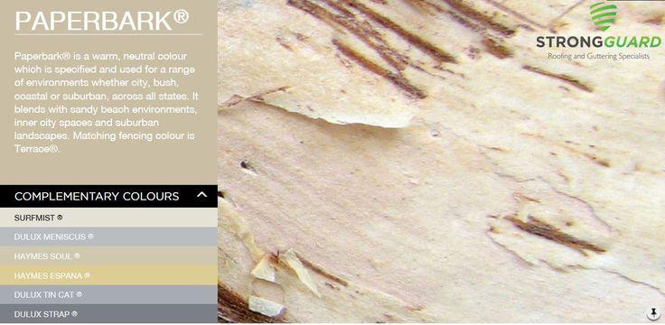BlueScope Steel Colorbond Paperbark - strongguard.com.au