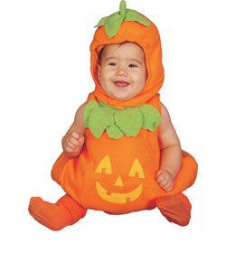 Pumpkin Baby Costume, too cute #HalloweenExcitement
