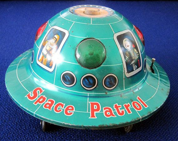Space Patrol Flying Saucer