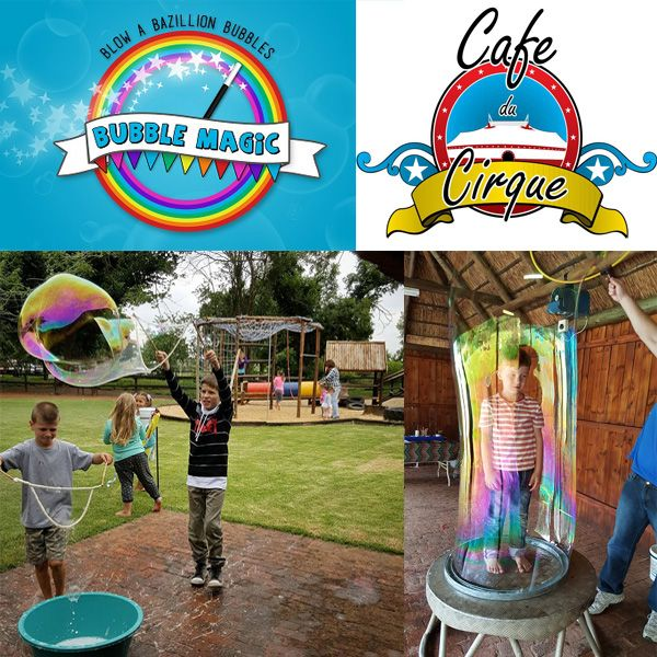 A fun, outdoor kids party, where the kids can enjoy the magic of bubbles. Some of the activities of this party include: Bubble art, Bubble blowing and learning to make your own giant magic bubbles.