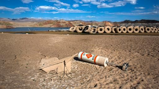 Wassernot in USA: Algen im Eriesee, Dürre am Lake Mead