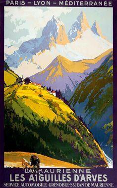 - Les Aiguilles dÁrves - La Maurienne- Département de la Savoie - France.