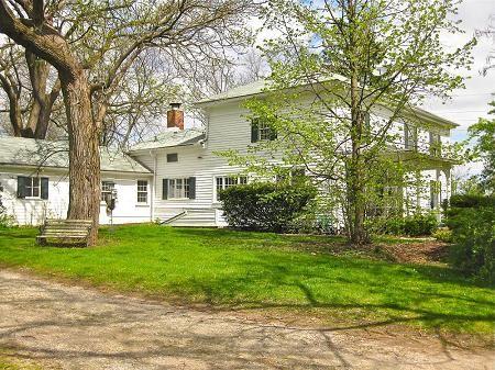 B.W. Waite House  1850s Farmhouse  Dexter, MichiganFarmhouse Dexter, 1850S Farmhouse, Oldhouse Com, Romantic Victorian, Wait House, House 1850S
