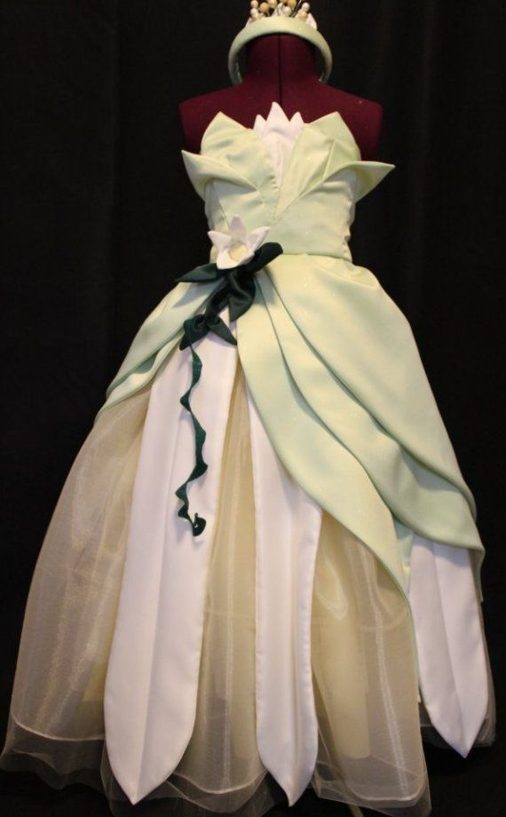 Pattern Modifications, Design Changes & Pattern Drafting >> Princess Tiana Halloween Costume