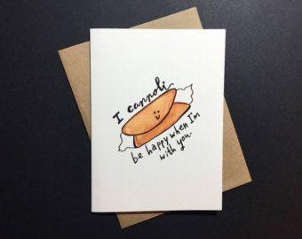 Juego de palabras-ny tarjeta de día de San por sweetwhimsicality