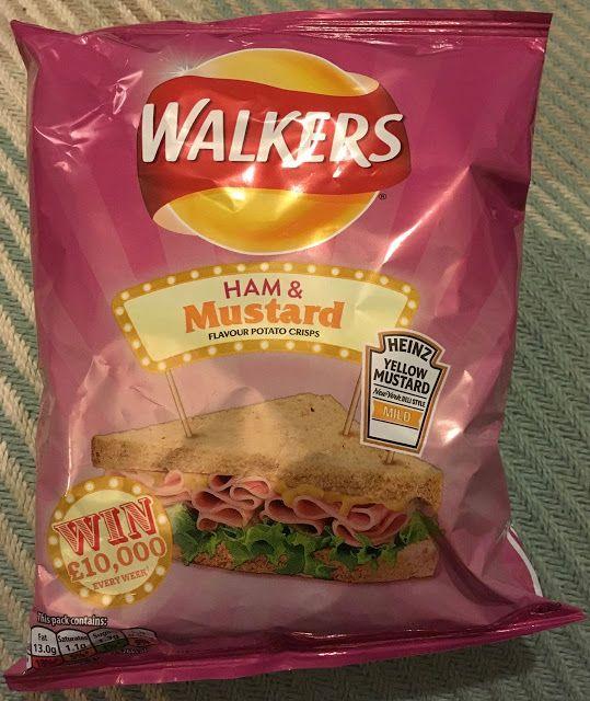 FOODSTUFF FINDS: Walkers Ham & Mustard Crisps (Boots) [By @SpectreUK]