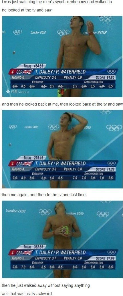 Tom Daley...there are no words. ;)