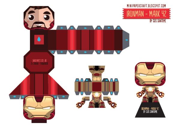 Blog_Paper_Toy_papertoy_Iron_Man_3_Mark42_template_preview