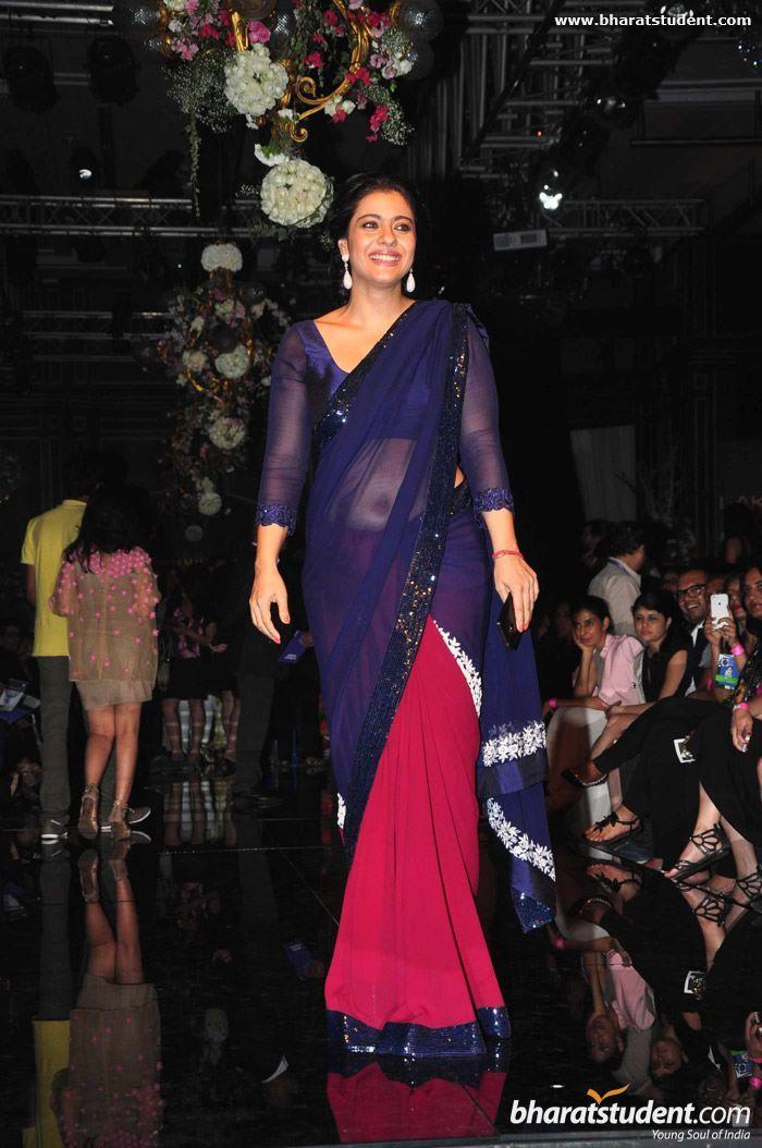 Kajol at Manish Malhotra Show 2014