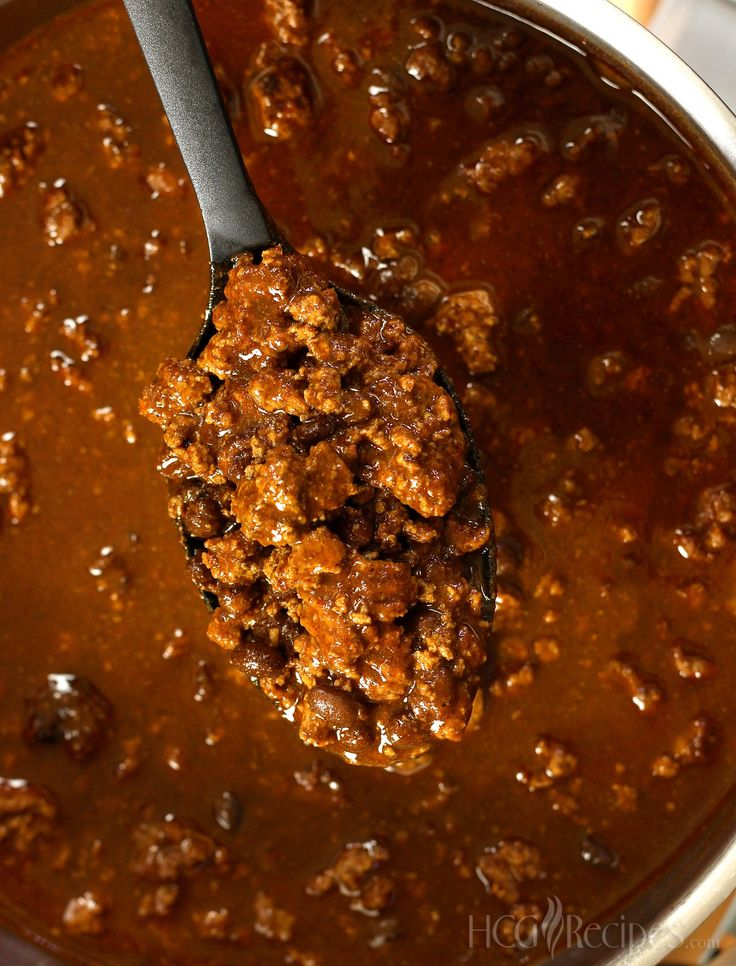 Chili Recipe for the HCG Diet.  A P2 favorite from The HCG Dieter Gourmet Cookbook