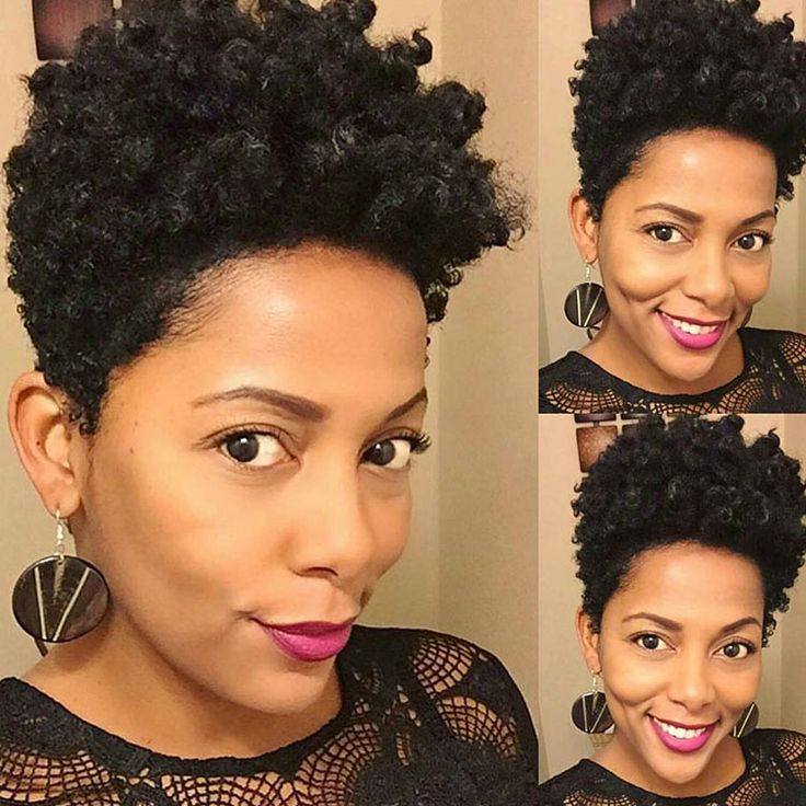 20 of the best tapered short natural hairstyles