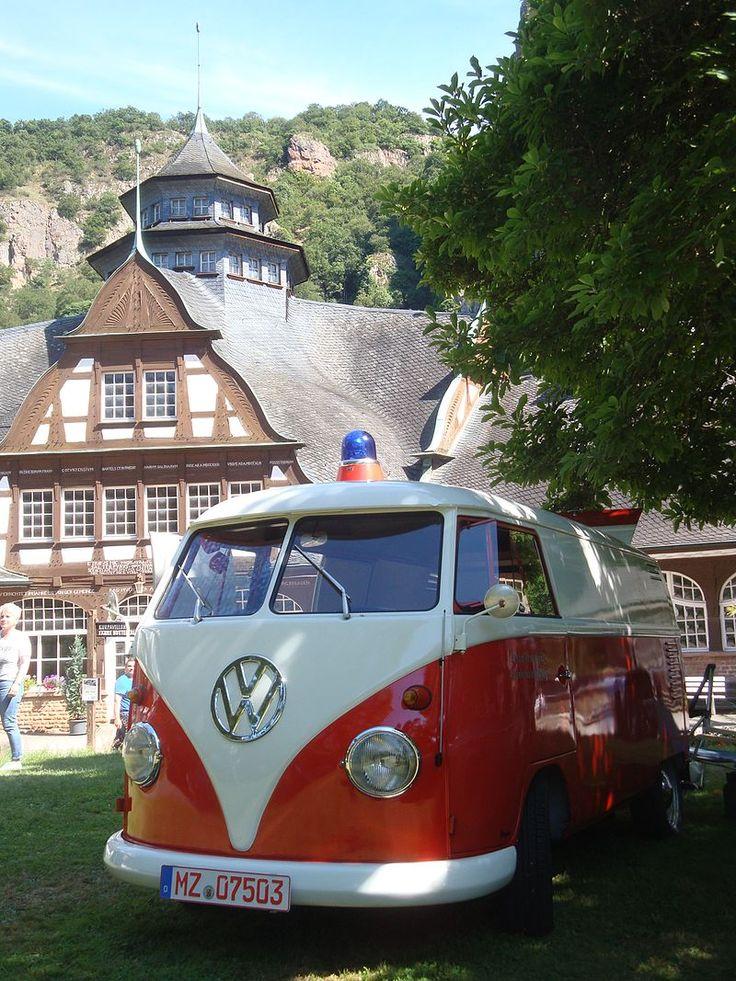 Superb Altes Feuerwehrauto Oldtimer Treffen Bad M nster a St Ebernburg u
