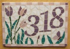 mosaico numeros de casa - Google Search