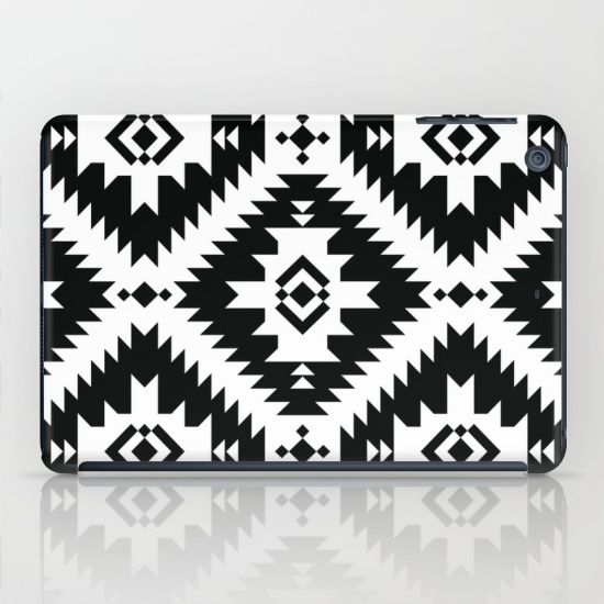 NavNa BW iPad Mini case by Fimbis | Society6 #blackandwhite #black #white #monochrome