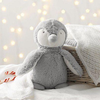 Medium Snowy Penguin | Christmas | The White Company #WhiteChristmasWishList