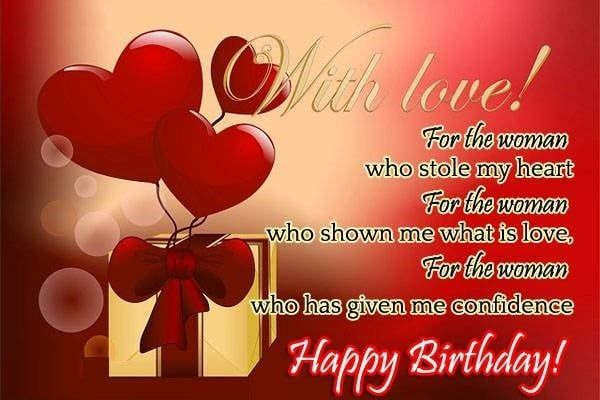 Birthday Images For Lover For Whatsapp Birthday Wishes For Wife Happy Birthday Cards Images Happy Birthday Love Images