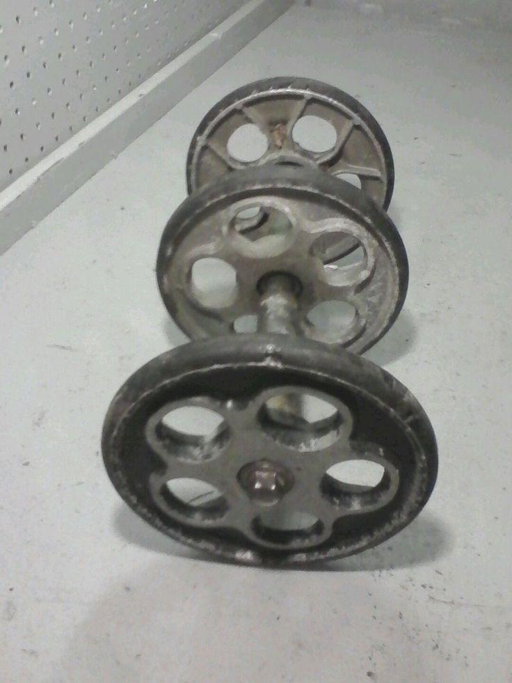 1985 85 yamaha srv 540 rear bogey wheel assembly vmax bogeys wheels