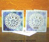 Minna Immonen winter card: snowflake / Minna Immosen talvikortti: lumihiutale