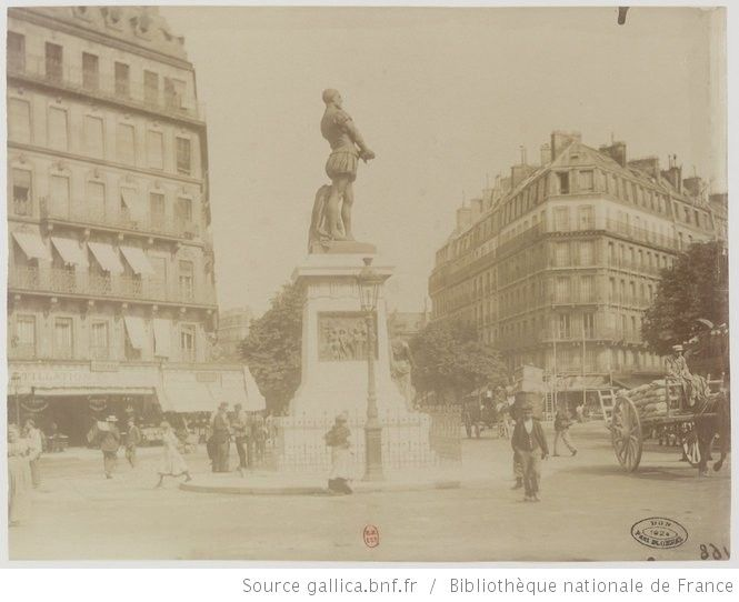 Place Maubert, 1899