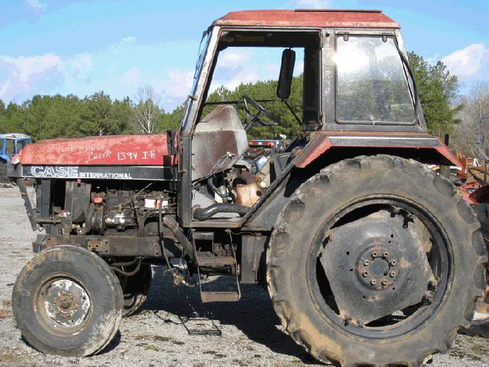 This tractor has been dismantled for Case 1394 tractor parts.  #case #tractor #parts