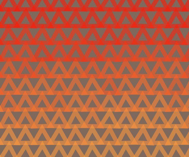 Fondo De Pantalla - Rojo Y Naranja -