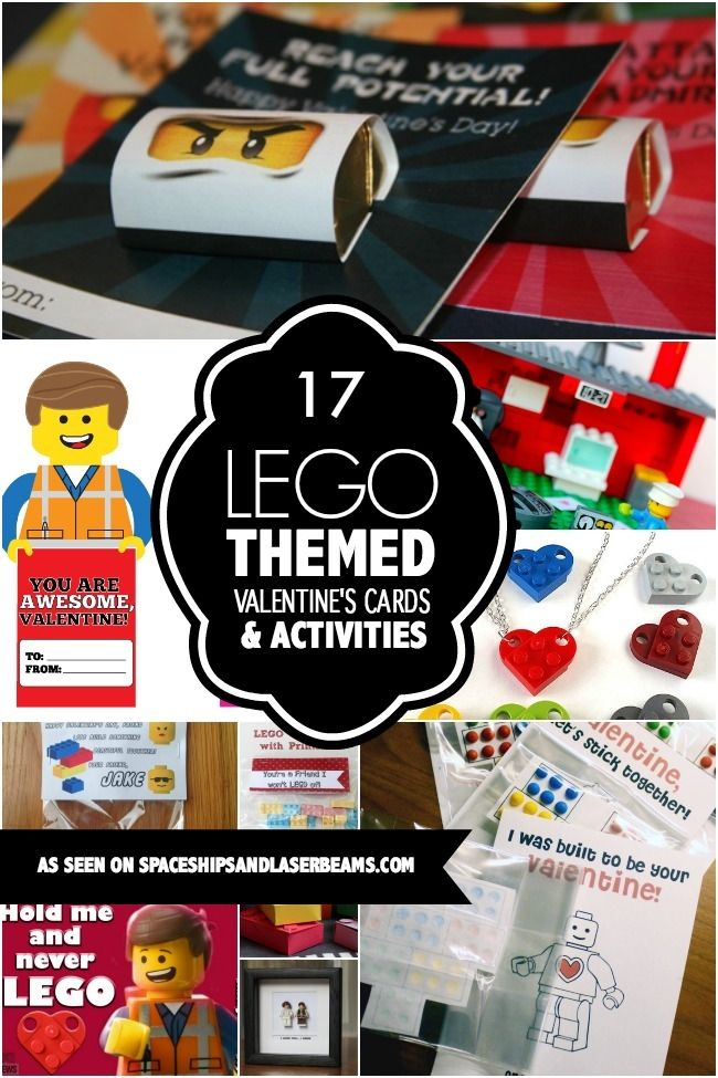 17 Best images about Lego Valentines – Valentines Cards for Boys